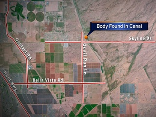Man found dead in canal; death is 'suspicious'