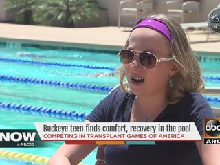 Buckeye teen competing after liver transplant