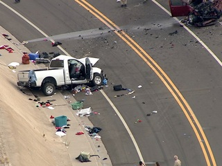 MCSO: Two people dead in Gila Bend crash