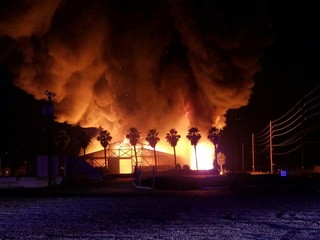 Large fire engulfs Avondale warehouse