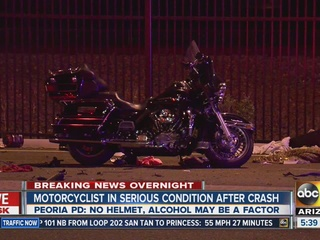 PD: DUI possible in serious Peoria crash