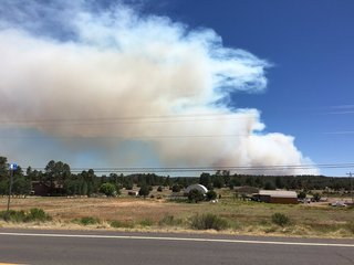 PHOTOS: Cedar Creek Fire burning near Show Low