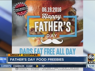 Get your Father's Day freebies