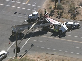 Scottsdale and Dynamite reopens after crash