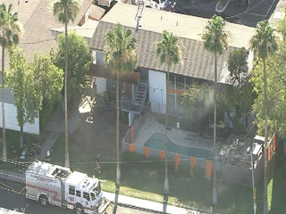 Three displaced after Scottsdale apartment fire