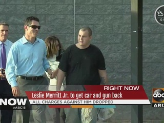Latest in battle over possession of Merritt gun