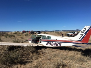 No injuries in plane crash near Prescott airport