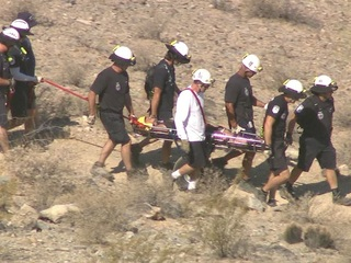 PHX PD: Man living on South Mountain rescued