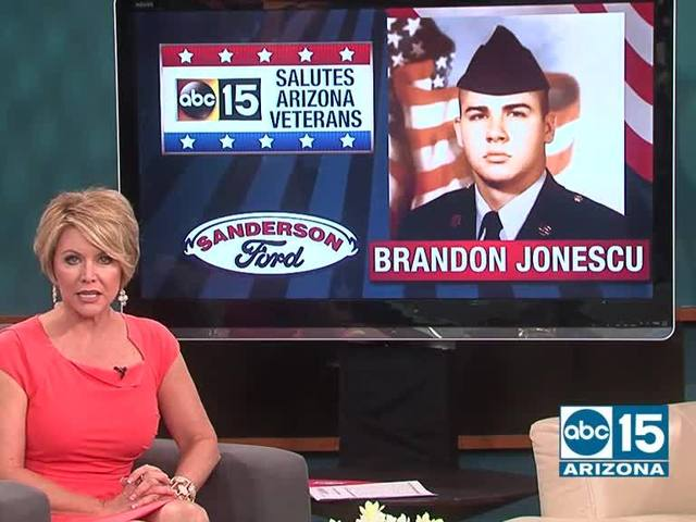 ABC15, Sanderson Ford salute: Army and Navy veteran Brandon Jonescu