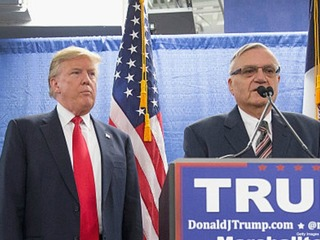 Arpaio focuses on loyalty to Trump