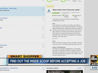 Get job listings, reviews from employees