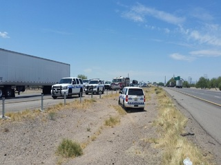 Officers stop wrong-way driver in Marana