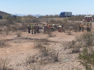 DPS: Two dead in Tonopah rollover crash