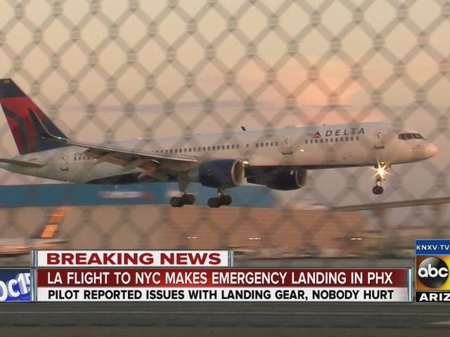 LA flight to NYC makes emergency landing in Phoenix