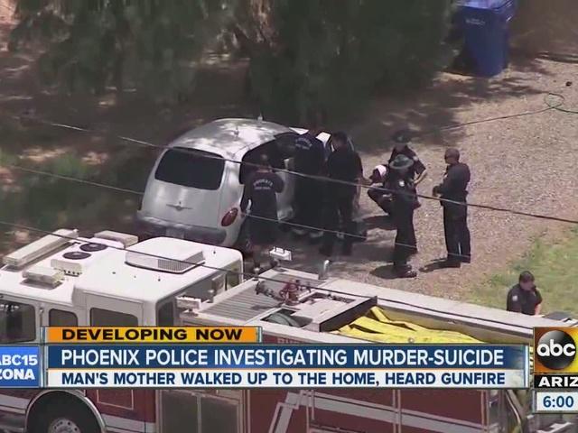 Phoenix police investigating murder-suicide