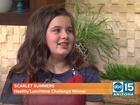 Chandler girl wins national food challenge