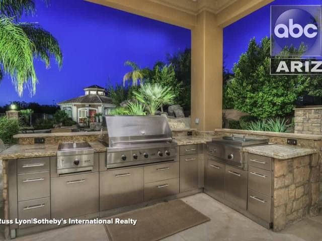 Fire Up The Grill Amazing Outdoor Valley Kitchens On The Market Right Now