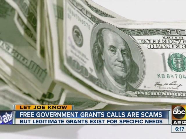 Free government grant calls are scams