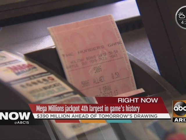 Mega Millions winning ticket sold in Phoenix