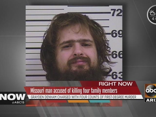 Missouri man accused of killing 4 family members