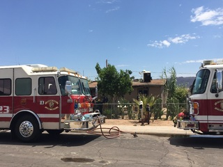 FD: Swamp cooler possible cause of PHX fire
