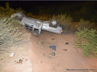 MCSO: Man in deadly Carefree crash was impaired