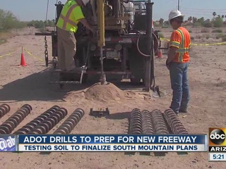 ADOT drills to prepare for S. Mountain Freeway