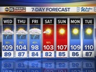 FORECAST: Monsoon storm chances all week