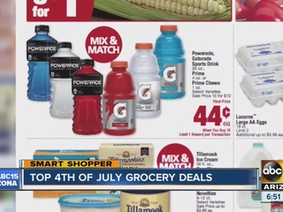 Best grocery deals for your 4th of July weekend