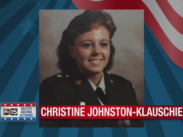 ABC15, Sanderson Ford salute: Army veteran Christine Johnston-Klauschie