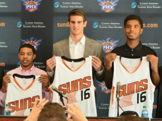 Suns accelerate rebuilding process with draft