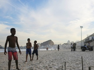 Body parts found on Rio Olympic volleyball venue