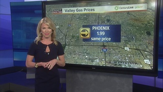 Higher gas prices for the holiday weekend
