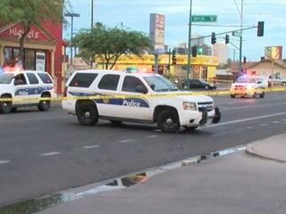 Police investigating shooting near downtown PHX