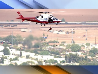 FD: Man stuck atop Echo Canyon with dizziness
