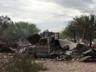 PCSO: Man killed in Pinal County house fire