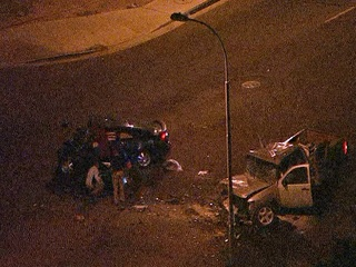 PD: Wrong-way driver dies in PHX crash