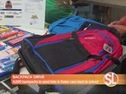Valley charities host backpack drive