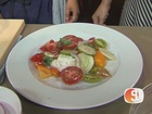 Summer dishes at St. Francis