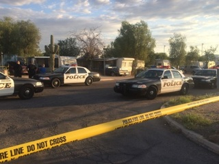 Tucson police kill man with a knife