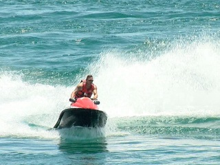 Rent 2 jet skis for the price of one