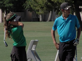 Chandler brother & sister make great golfing duo