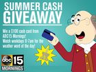 Watch and win a $100 Visa gift card!