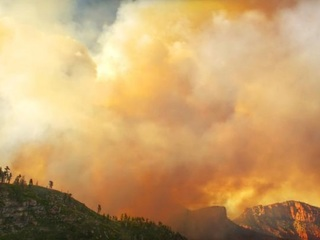 Fuller Fire near Grand Canyon now 65% contained