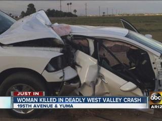 Man arrested in deadly crash near Buckeye