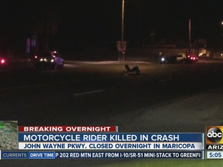SR 347 reopens in Maricopa after deadly crash