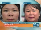 Permanent makeup for busy women