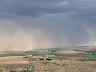 FORECAST: Chance of dust and strong storms