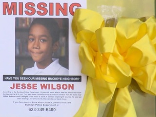 Police hope for clues in Jesse Wilson search