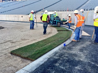 PHOTOS: New sod, seats at Sun Devil Stadium